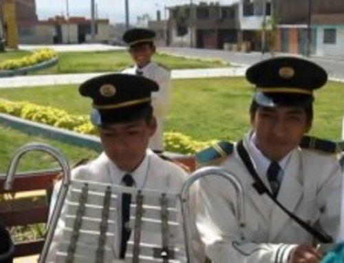 Nuevo Contacto.- BANDA DEL COLEGIO LEON XIII DE CIRCA (AREQUIPA – PERÚ)