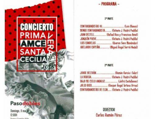 """LA BANDA SANTA CECILIA DE ELDA INTERPRETÓ EL PASODOBLE """"JULIO BOIX"""""""