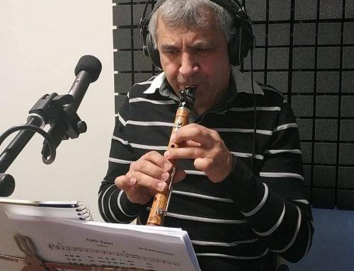 Gaspar Ángel colabora con el CHALUMEAU en el nuevo disco de JVGLÀREA