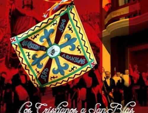 VIDEO.- Estreno en Sax (Alicante) de CRISTIANOS A SAN BLAS en Desfile (2008)