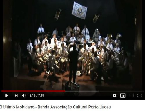 VIDEO: La Banda Associação Cultural Porto Judeu (Portugal) interpreta la adaptación de El Último Mohicano a Marcha Mora de Gaspar Ángel.