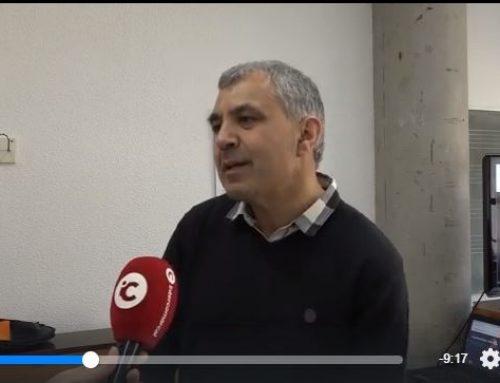 Entrevista a Gaspar Ángel Tortosa en TV INTERCOMARCAL