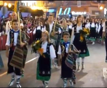 Video.- COMPARSA DE LABRADORES VILLENA con el pasodoble de su 75 Aniversario