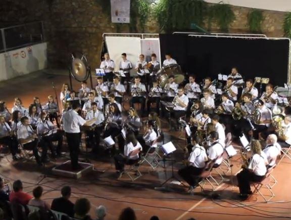 """LA UNIÓN MUSICAL DE SERÓN (ALMERÍA) INTREPRETA """"75 ANIVERSARIO DE LOS ANDALUCES"""""""