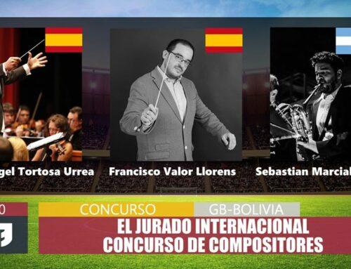 Gaspar Angel Tortosa, Jurado Internacional del Concurso Virtual de Compositores de Bolivia.