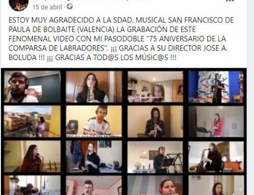 Nuevo Video.- 75 ANIVERSARIO DE LOS LABRADORES (Sdad. San Fco. de Paula de Bolbaite)