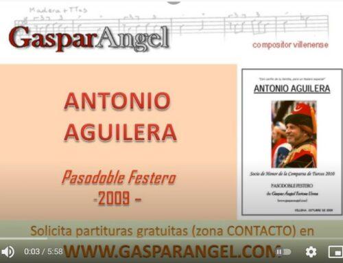 "Video 2ª Pieza para Sax (Alicante). ""Antonio Aguilera"" (Pasodoble Festero)"