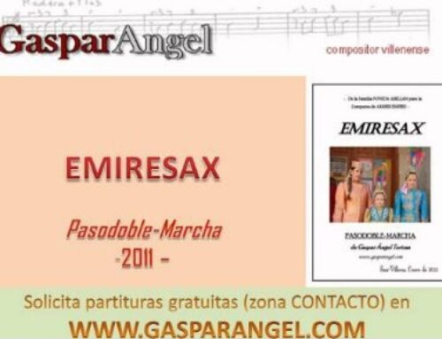 "Video 4ª Pieza para Sax (Alicante). ""Emiresax"" (Pasodoble-Marcha)"