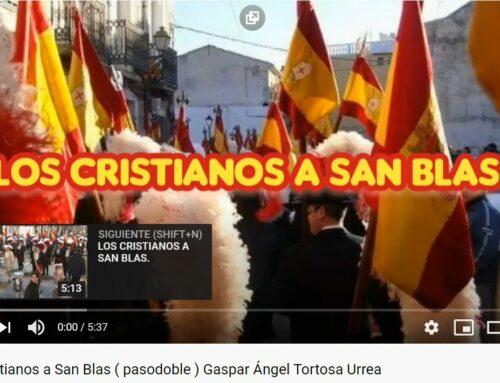 Video 1ª Pieza para Sax.- LOS CRISTIANOS A SAN BLAS (Pasodoble-Marcha)