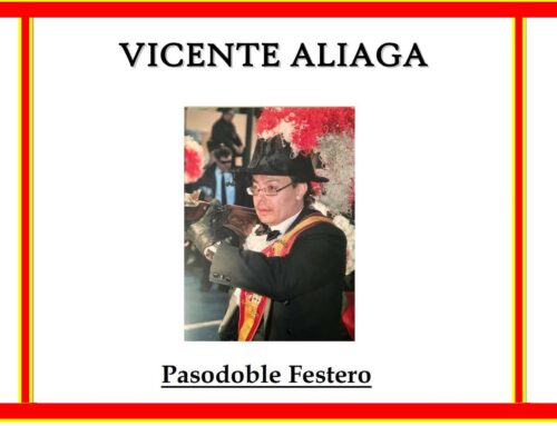 ¡¡¡ Video Nueva Composición !!! VICENTE ALIAGA (Pasodoble Festero).