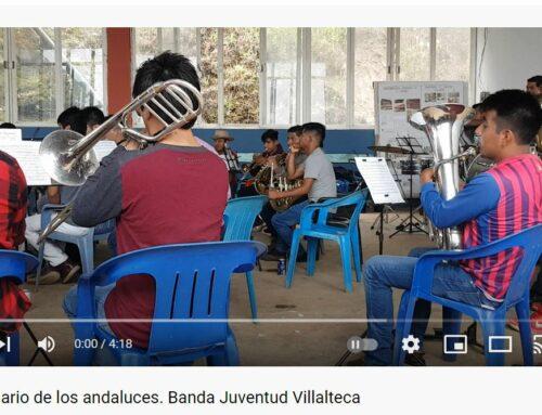 """Nuevo Video desde MÉXICO.- """"75 ANIVERSARIO DE LOS ANDALUCES"""". Banda Filarmónica Juventud Villalteca"""