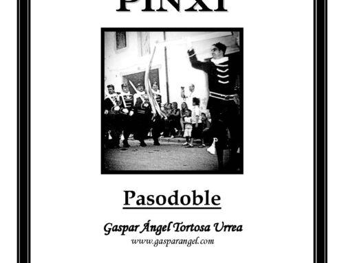 Nueva Composición: PINXI (Pasodoble). Audio Versión para Piano